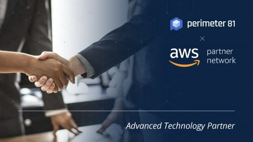 Perimeter 81 is an Advanced Technology Partner in the Amazon Web Services Partner Network