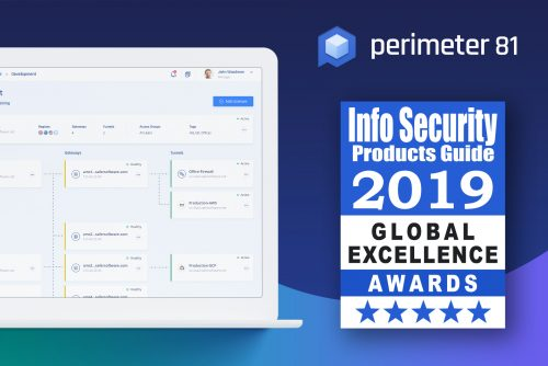 Perimeter 81 Named Winner in the 15th Annual Info Security PG's 2019 Global Excellence Awards