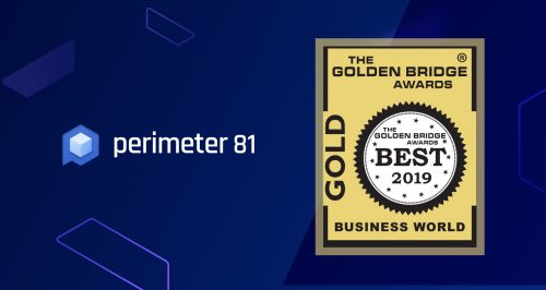 Perimeter 81 Honored as Gold Winner in the 11th Annual 2019 Golden Bridge Awards