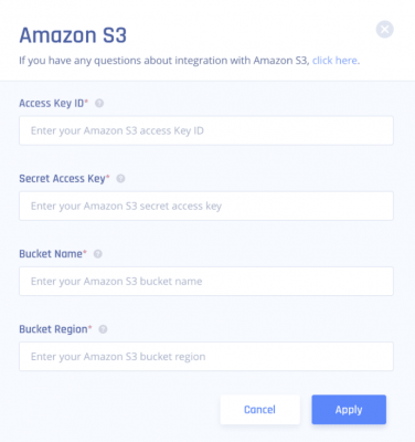 Perimeter 81 Amazon S3 Integration